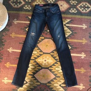 Red Engine Low Rise Skinny 26
